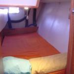 Cabine double à bâbord